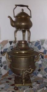 Grusinien OP Teesorte im Samovar