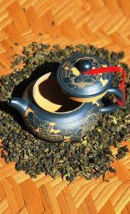 Oolong Ti Guan Yin bei Teesorte