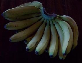 Bananen Kuchen mit schwarzem Tee bei Teesorte