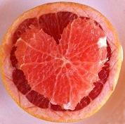 Grapefruit in weißem Tee Gelee bei Teesorten