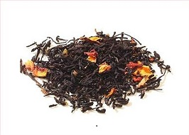 Schwarztee Rhabarber Sahne bei Teesorte