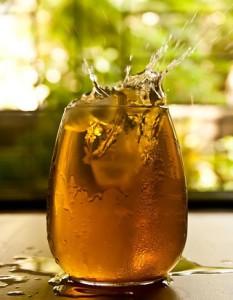 Teesorte Oolong Marillencrêpe - feiner Eistee