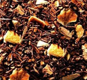 Rotbusch Mandarinenfeuer bei Teesorte