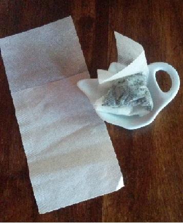 Teesorte Teebeutelablage bei Teesorte